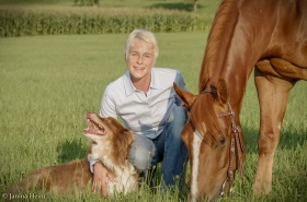 Pferdeosteopathin Sabine Fecker